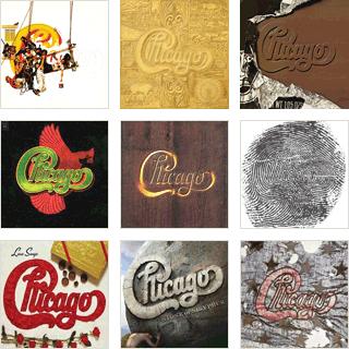 Chicago Album Covers