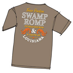 Swamp Romp 2017 t-shirt